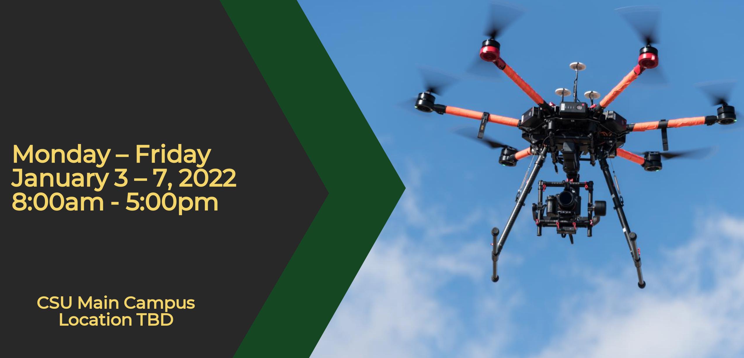 CSU January Drone Flight School