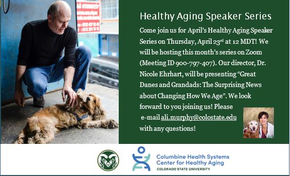 Healthy Aging Speaker Series