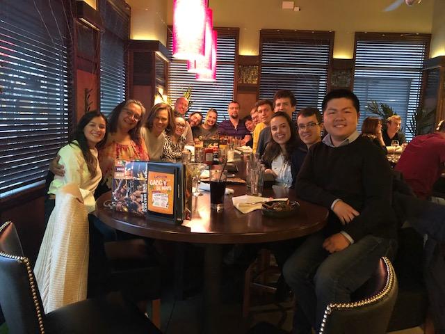 SP19 Dinner at Bar Louie