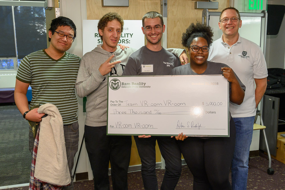 Create-a-thon team, First place winners