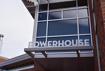Energy Institute powerhouse entrance