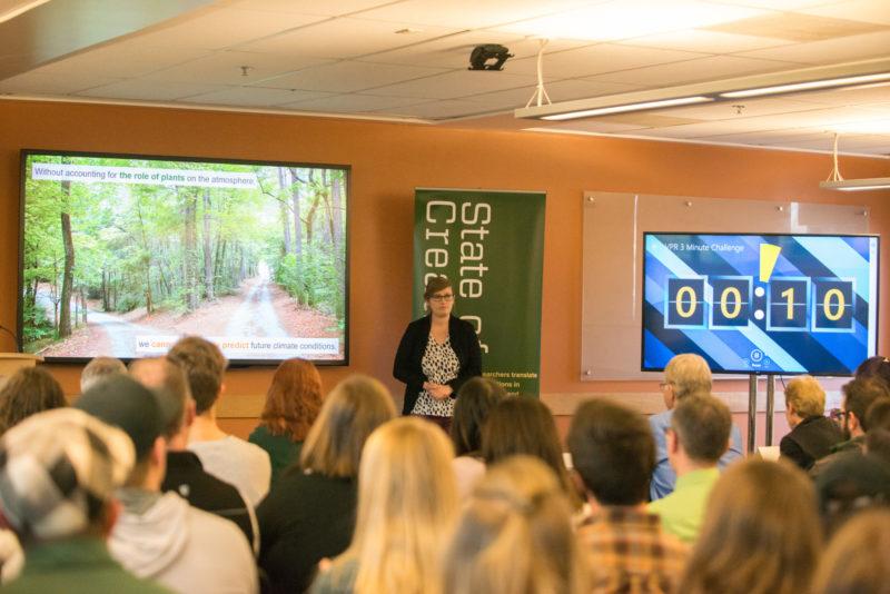 3 minute challenge presentation