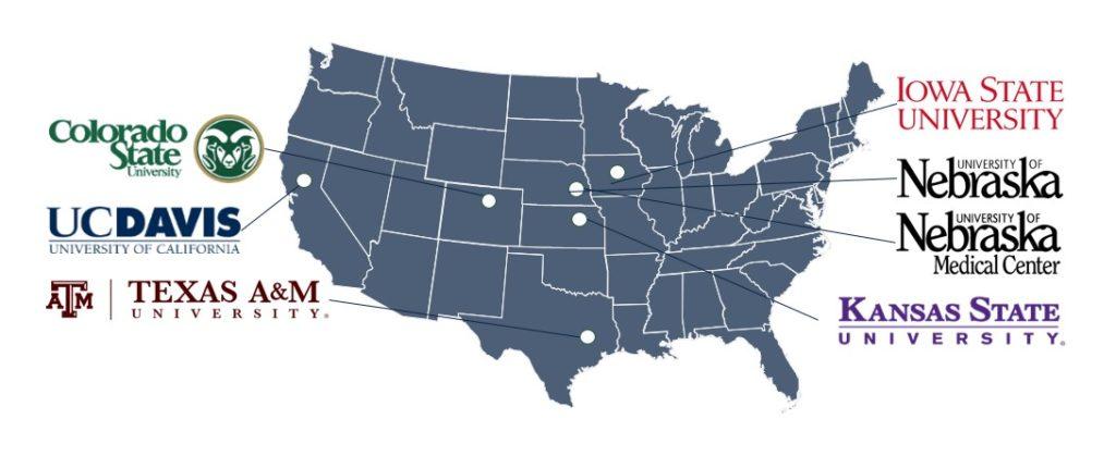 CSU Institutions Map